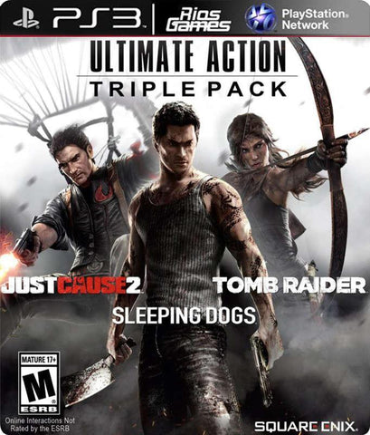 RiosGames PS3 Ultimate Action Triple Pack