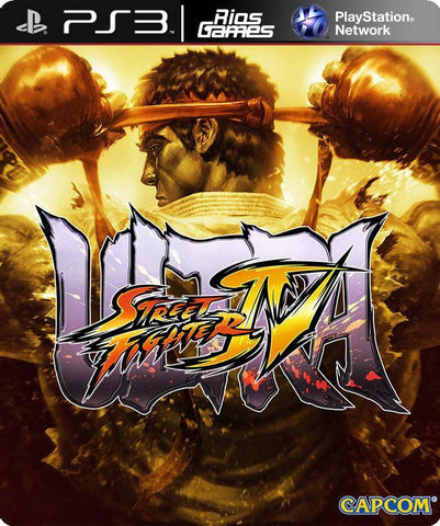 RiosGames PS3 Ultra Street Fighter IV