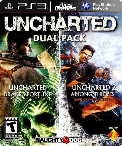 RiosGames PS3 Uncharted Dual Pack