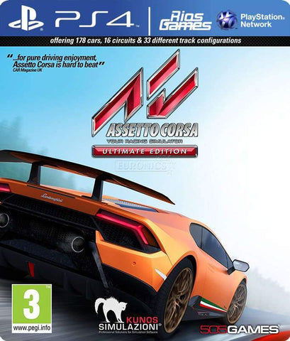 RiosGames PS4 Assetto Corsa Ultimate Edition