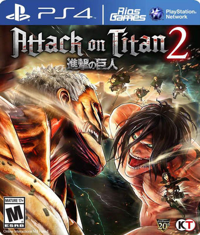 RiosGames PS4 Attack on Titan 2