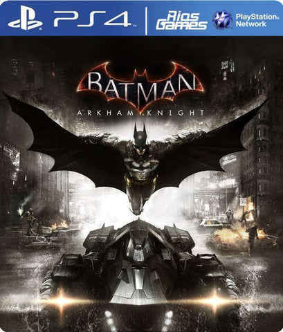 RiosGames PS4 Batman Arkham Knight