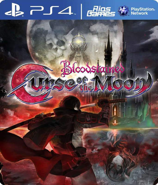 RiosGames PS4 Bloodstained: Curse of the Moon