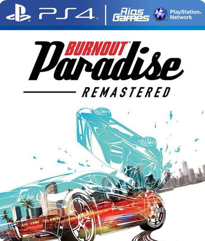 RiosGames PS4 Burnout Paradise Remastered