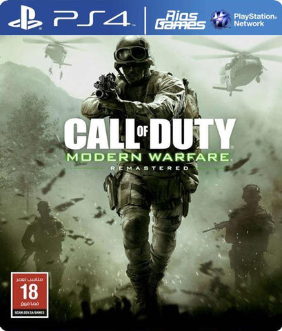 RiosGames PS4 Call of Duty: Modern Warfare Remastered