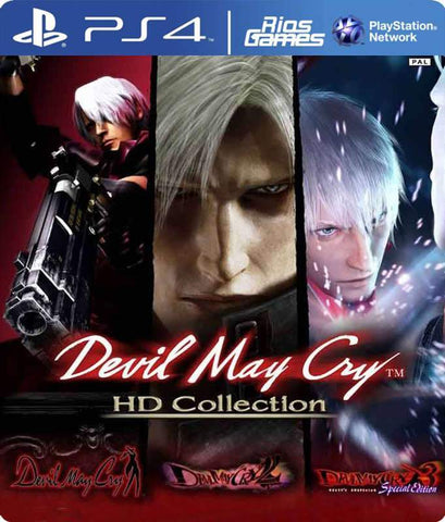 RiosGames PS4 Devil May Cry HD Collection