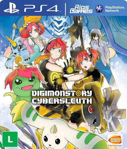 RiosGames PS4 Digimon Story Cyber Sleuth