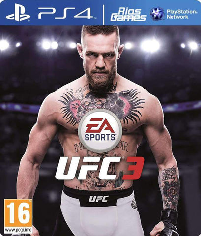 RiosGames PS4 EA SPORTS UFC 3