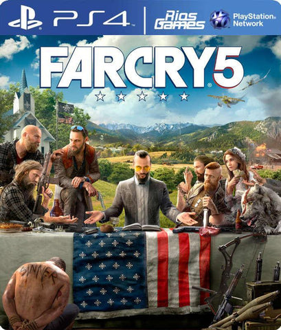 RiosGames PS4 FAR CRY 5