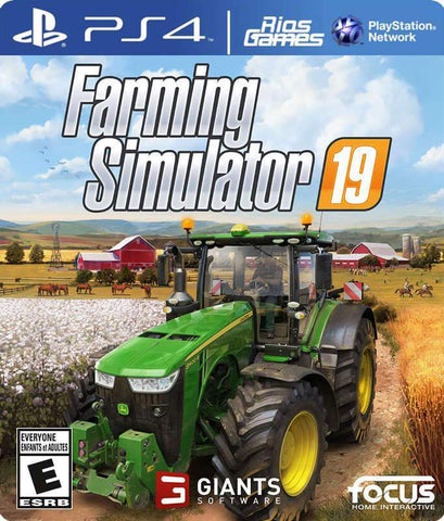 RiosGames PS4 Farming Simulator 19