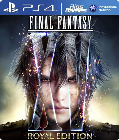 RiosGames PS4 FINAL FANTASY XV ROYAL EDITION