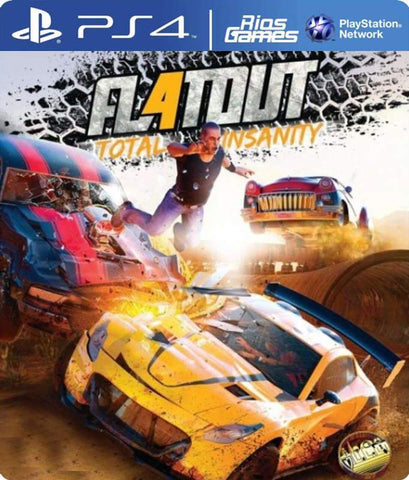 RiosGames PS4 Flatout 4: Total Insanity