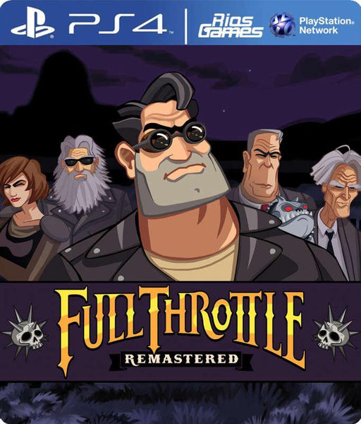 RiosGames PS4 Full Throttle Remastered