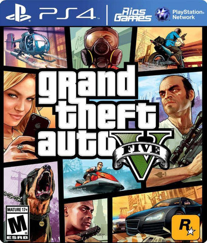 RiosGames PS4 Grand Theft Auto V