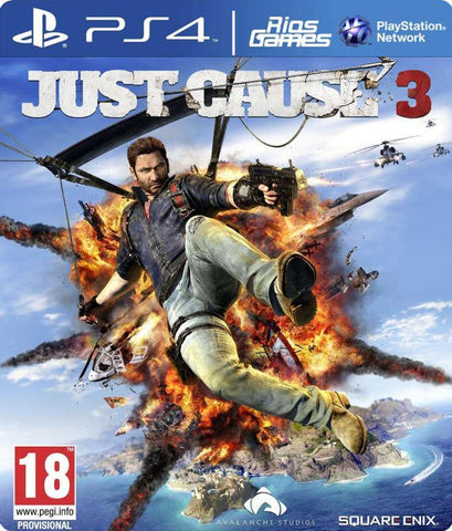 RiosGames PS4 Just Cause 3