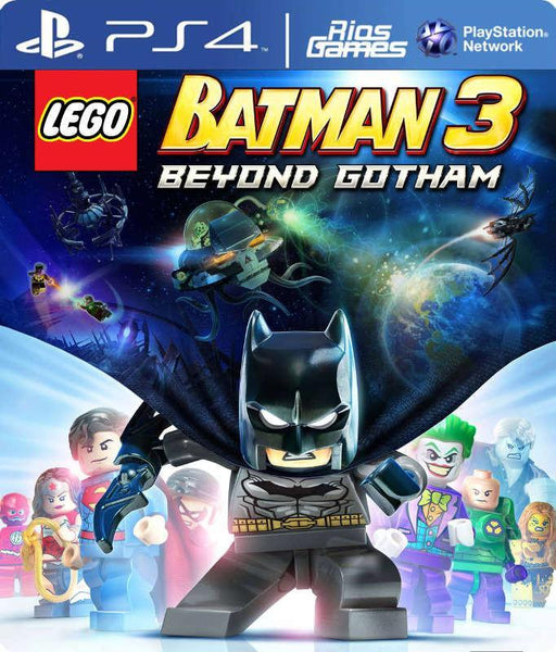 RiosGames PS4 Lego Batman 3 Beyond Gotham