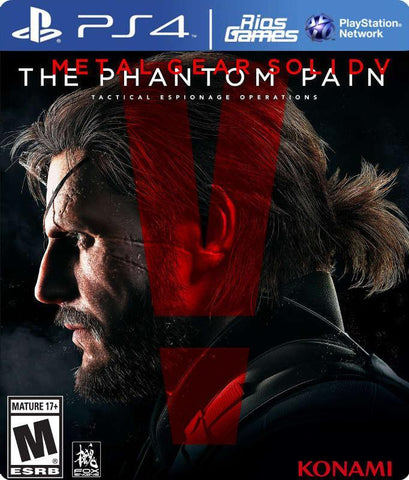 RiosGames PS4 METAL GEAR SOLID V THE PHANTOM PAIN