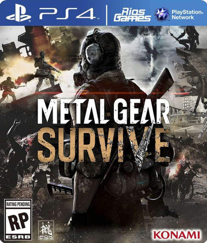 RiosGames PS4 METAL GEAR SURVIVE