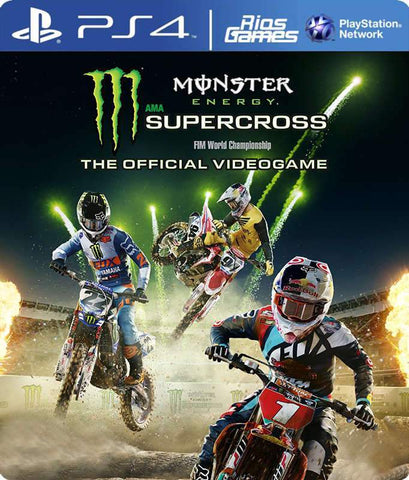 RiosGames PS4 Monster Energy Supercross - The Official Videogame