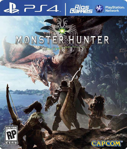 RiosGames PS4 MONSTER HUNTER: WORLD