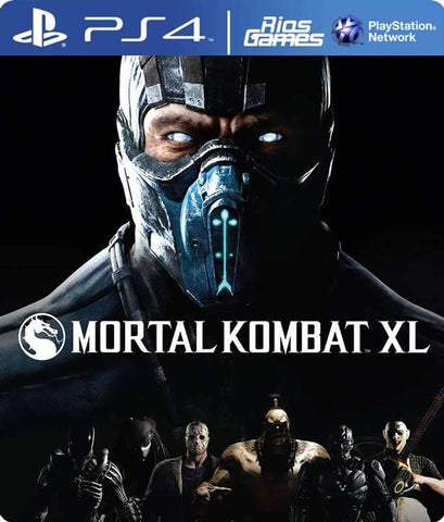 RiosGames PS4 Mortal Kombat XL