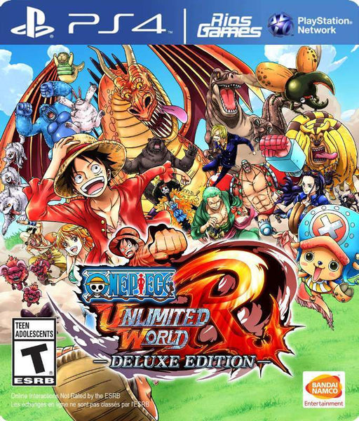 RiosGames PS4 ONE PIECE: Unlimited World Red DELUXE