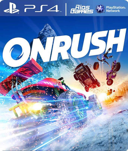 RiosGames PS4 ONRUSH Standard Digital Edition