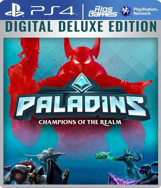 RiosGames PS4 Paladins Digital Deluxe Edition
