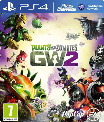 RiosGames PS4 Plants vs Zombies Garden Warfare 2