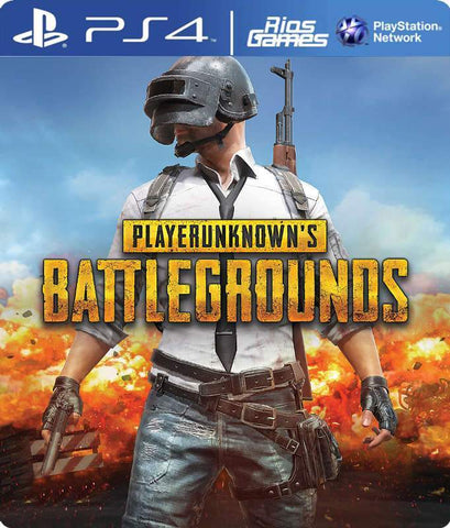 RiosGames PS4 PLAYERUNKNOWN'S BATTLEGROUNDS