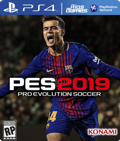 RiosGames PS4 PRO EVOLUTION SOCCER PES 2019 STANDARD EDITION