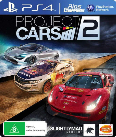 RiosGames PS4 Project cars 2