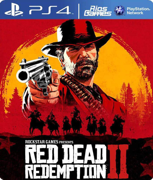 RiosGames PS4 Red Dead Redemption 2