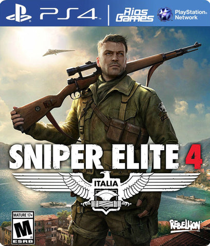 RiosGames PS4 Sniper Elite 4