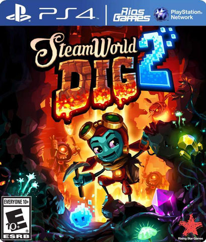 RiosGames PS4 SteamWorld Dig 2