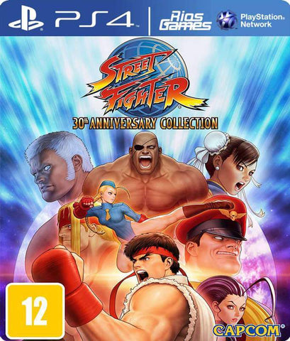 RiosGames PS4 Street Fighter 30th Anniversary Collection