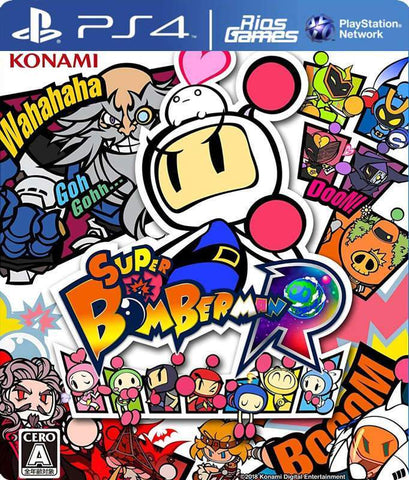 RiosGames PS4 Super Bomberman R