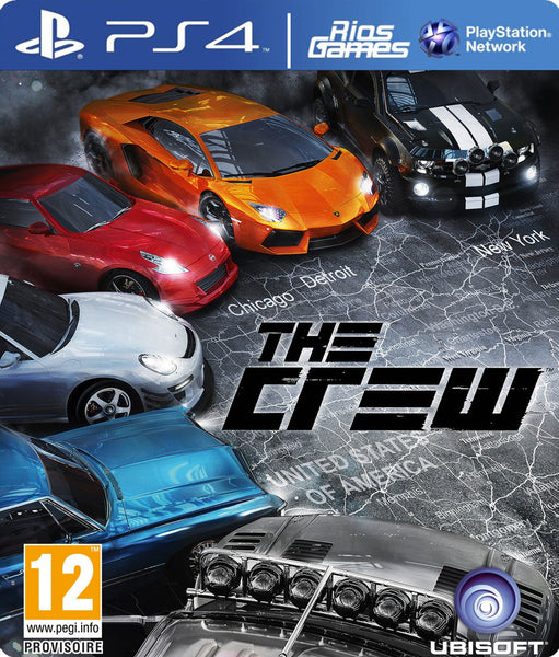 RiosGames PS4 The Crew