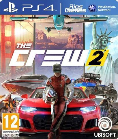 RiosGames PS4 The Crew 2