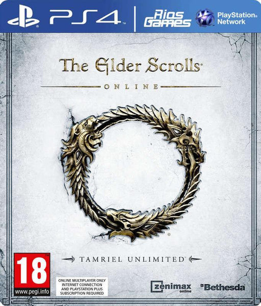 RiosGames PS4 The Elder Scrolls Online Tamriel Unlimited