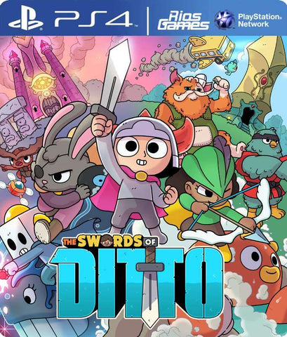 RiosGames PS4 The Swords of Ditto