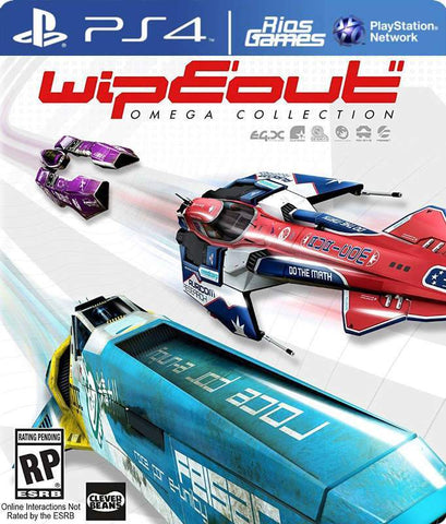 RiosGames PS4 WipEout Omega Collection