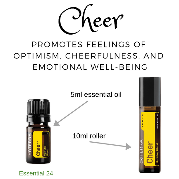 Bringing Cheer Into Your Life - doTERRA Cheer