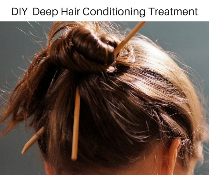 DIY Deep Hair Conditioning Treatment Using Essential OIls