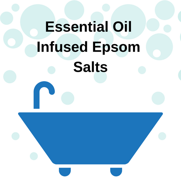 DIY Essential Oil Infused Epsom Salt Bath