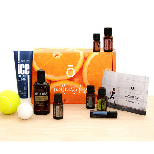 Active Sports Wellness Box & Membership  - Buy doTERRA Essential Oils & Products - doTERRA Australia