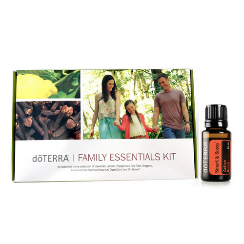 doTERRA Family Essentials Kit with Smart & Sassy + Membership - buy doTERRA essential oils Australia