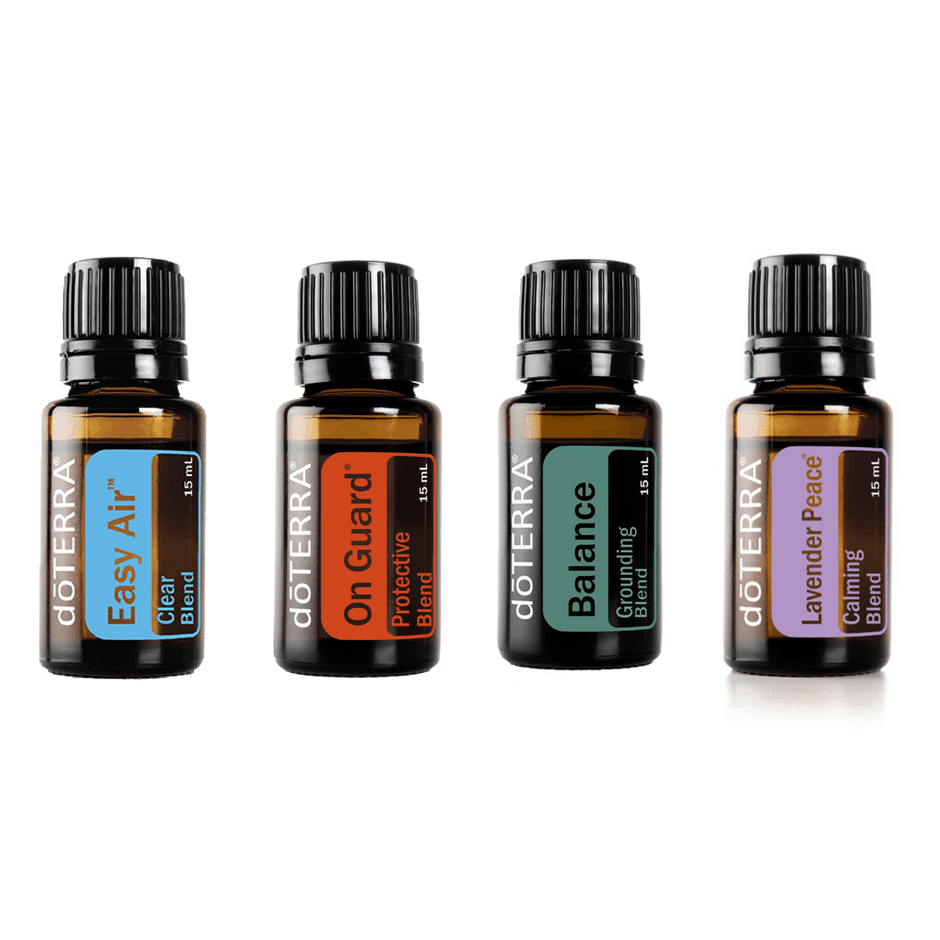 Essential Blends Kit - Our Favourite Four + Membership - buy doTERRA essential oils Australia