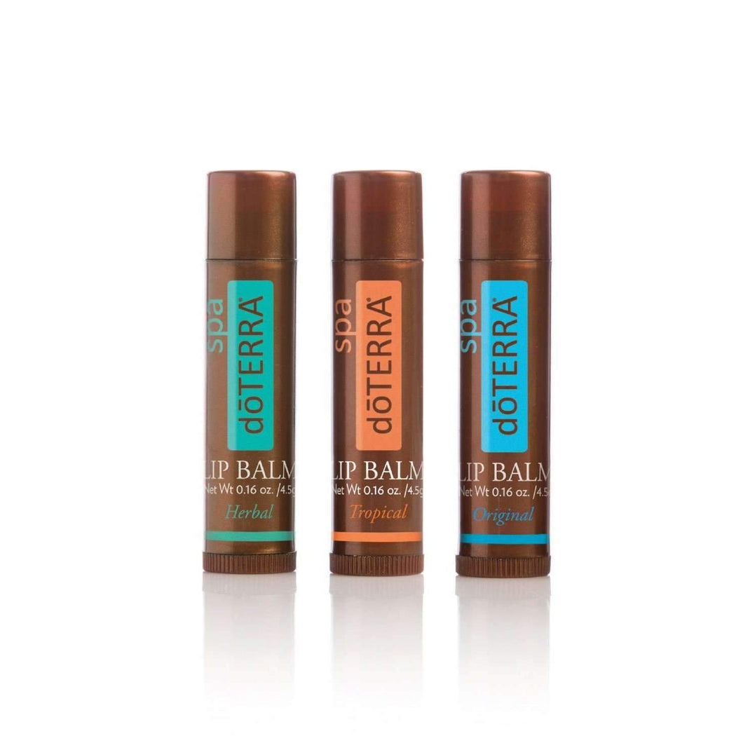 doTERRA Lip Balm 3 Pack  - Buy doTERRA Essential Oils & Products - doTERRA Australia