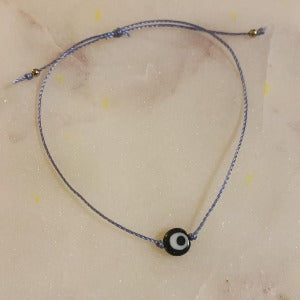 commUNITY Bracelet - evil eye bead